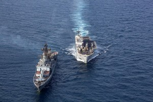 NATO and Russia Exercise At Sea