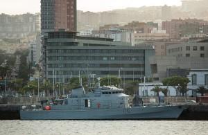 Arrested off Senegal