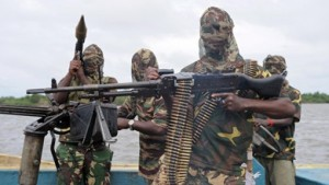 Oil theft on the rise in the Niger Delta.