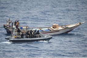 HMCS Toronto intercepts narcotics at sea