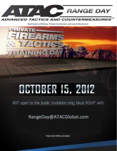 ATAC Range Day 2012